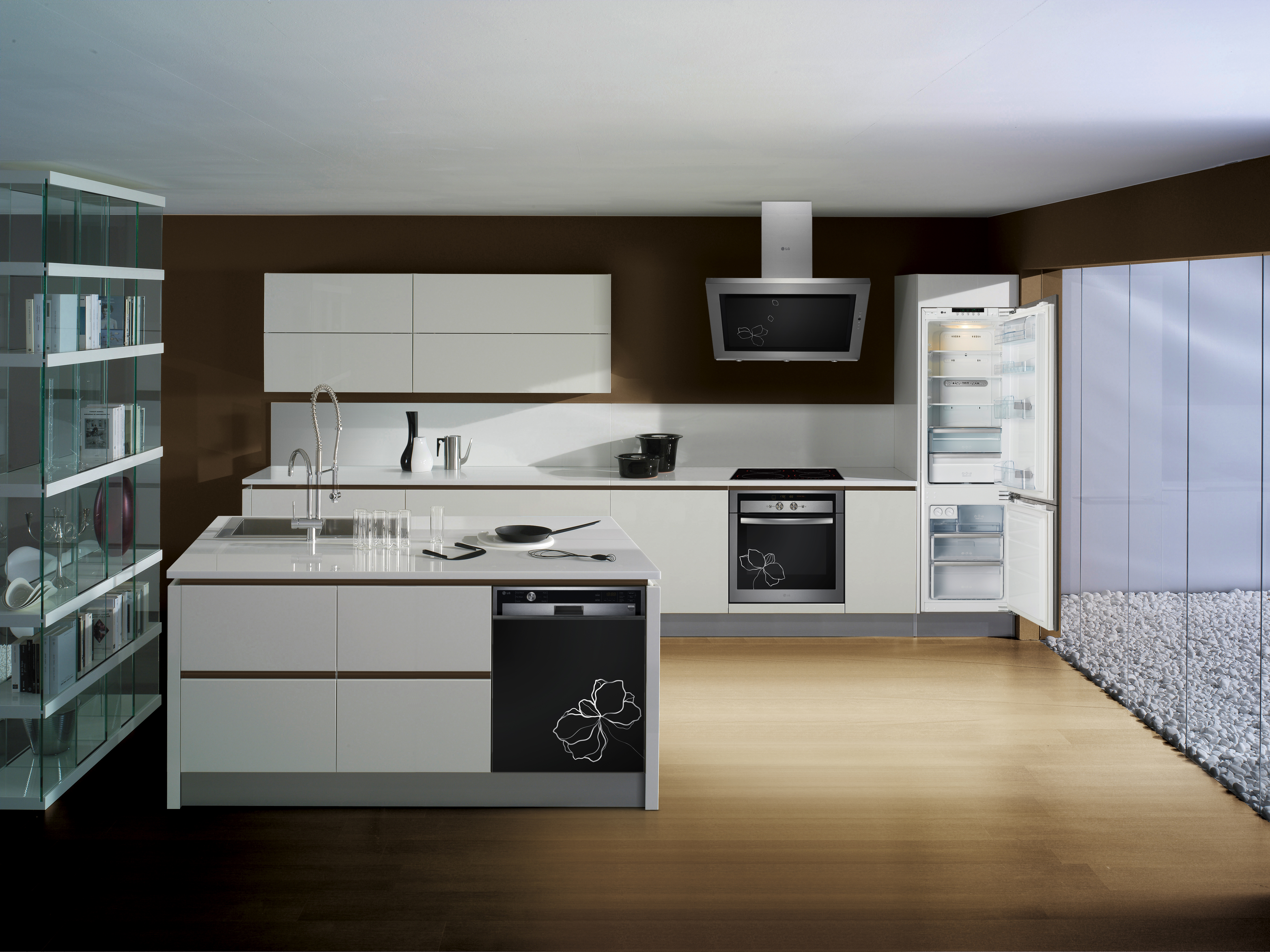 Lg commits to eco chic lifestyle lg newsroom for Four micro onde encastrable meuble haut