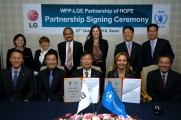LG ELECTRONICS AND WFP STRENGTHEN PARTNERSHIP TO FIGHT HUNGER IN ASIA
