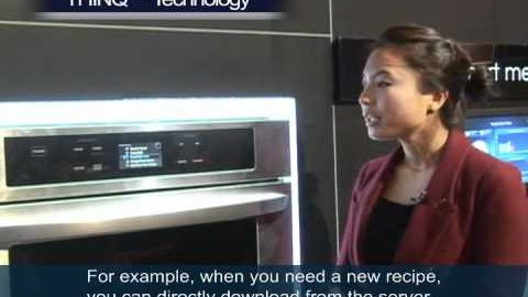 LG HOME APPLIANCES DEMONSTRATION IN CES 2011