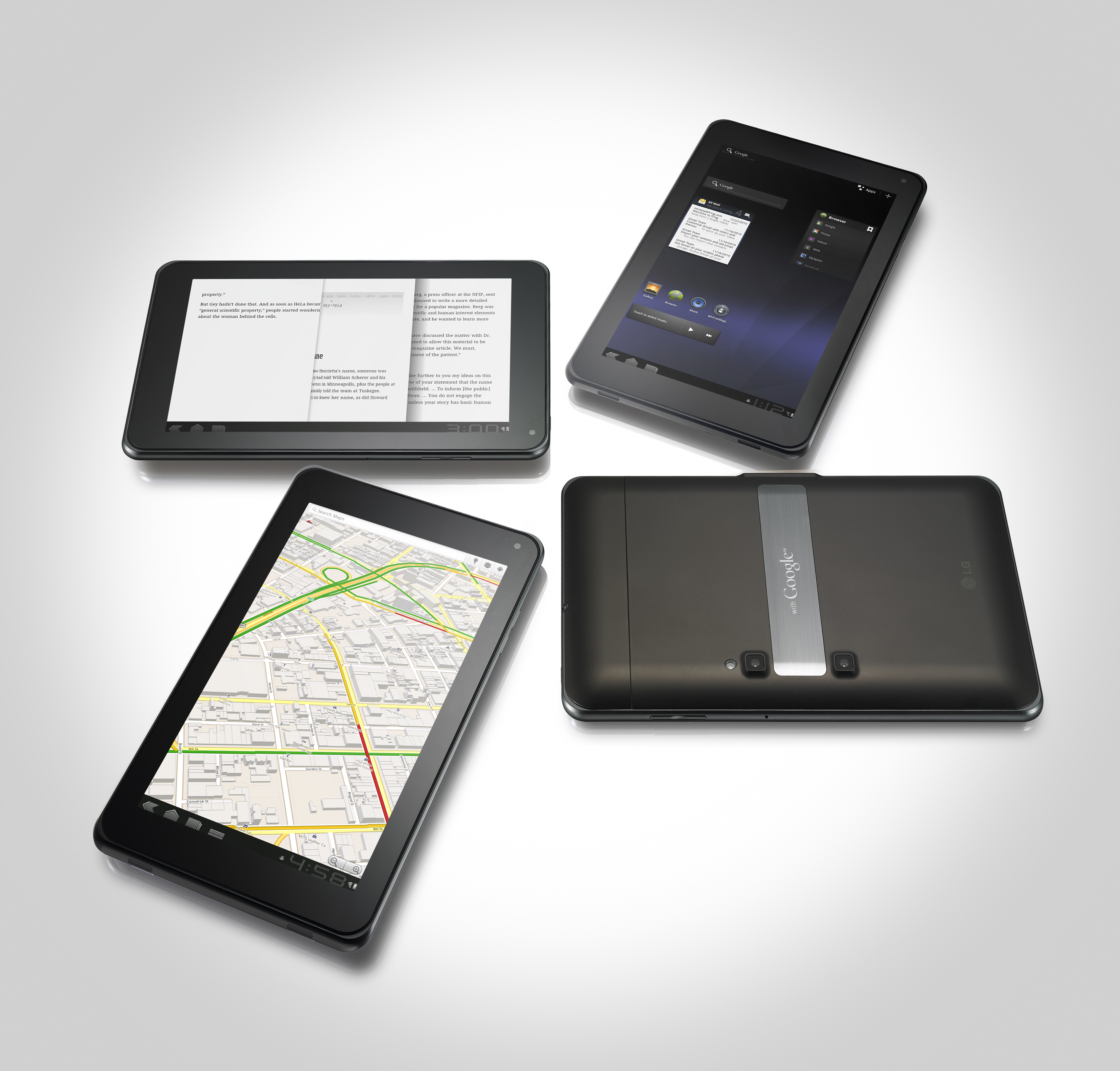 SETTING A NEW STANDARD IN TABLETS, LG OPTIMUS PAD DEBUTS AT