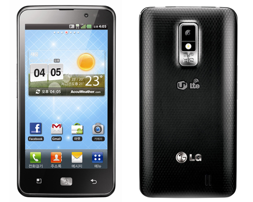 LG LAUNCHES OPTIMUS LTE, FIRST 4G HD SM