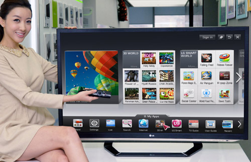 LG UNVEILS NEW SMART TV FEATURES FOR 2012 FOCUSING ON RIC