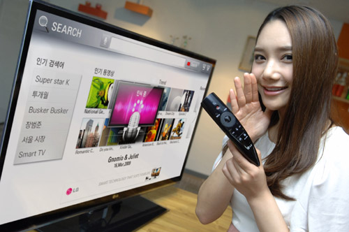 LG'S NEW MAGIC REMOTE ADDS INNOVATIVE FUNCTIONS TO ENHANCE CINE