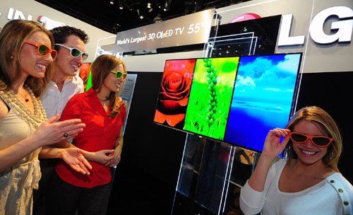 LG UNVEILS LARGE-SCREEN CINEMA 3D SMART TV LINE-UP OPTIMIZED FOR IMMER