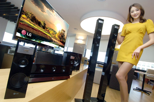 LG'S NEW HOME THEATER SYSTEMS TO DISRUPT HOME ENTERT