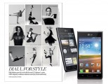 LG OPTIMUS L-SERIES TO DEBUT IN PEROU FASHION SPREAD