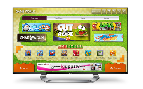 LG OPENS GAME WORLD FOR CONVENIENT ACCESS TO WID