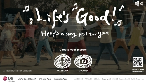 LG TO ENHANCE CONSUMER ENGAGEMENT WITH UPLIFTING SOCIAL