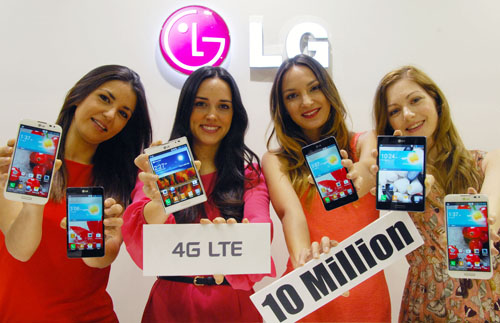 LG PASSES TEN MILLION MAR