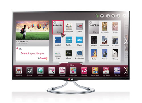 LG IPS PERSONAL SMART TV DELIVERS HUGE ENTERTAIN