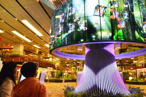 Changi Airport Group Partners With Lg To Take Wraps Off