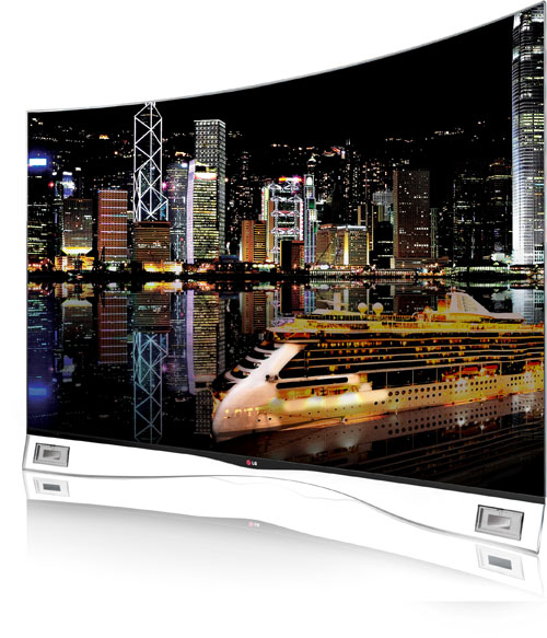 LG BRINGS CURVED OLED TV TO