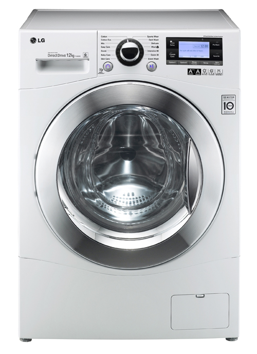 Lg showcases latest big capacity washing machines and new - Washing machine new technology ...