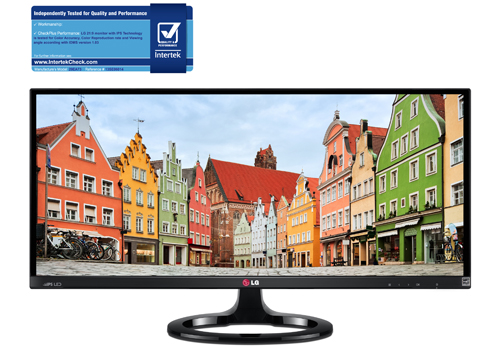 LG IPS 21:9 ULTRAWIDE MONITOR AWARDED CERTIFICATION FO