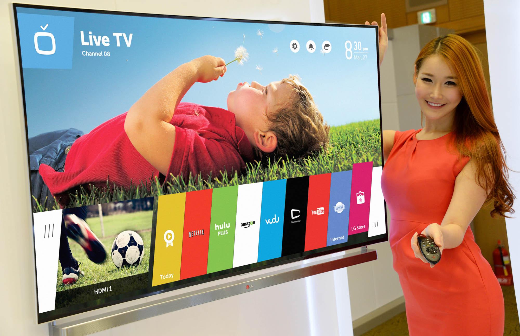 LG MAKES SMART TV SIMPLE WITH NEW WEBOS SMART TV PLATFORM | LG Newsroom