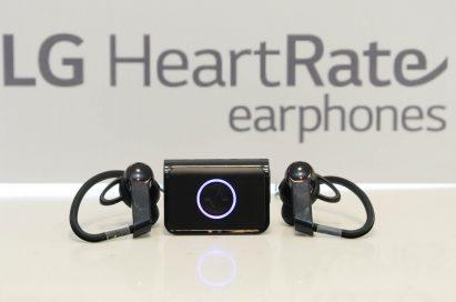LG Heart Rate Earphones
