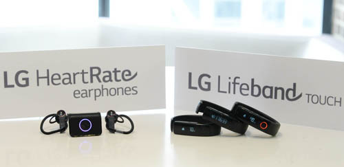 LG ENTERS FITNESS WEARABLE MARKET WITH LIFEBAND TOUCH