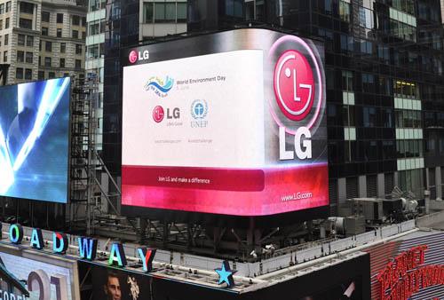 LG'S ENVIRONMENTAL LEADERSHIP BRINGING POSITIV