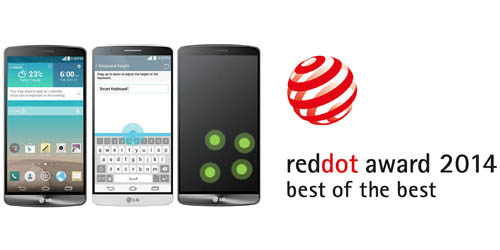 LG RECOGNIZED AT 2014 RED DOT AWARDS  FOR