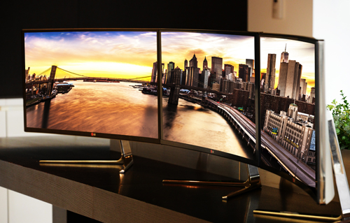 LG TO UNVEIL WORLD'S FIRST  21:9 CURVED IPS ULTR