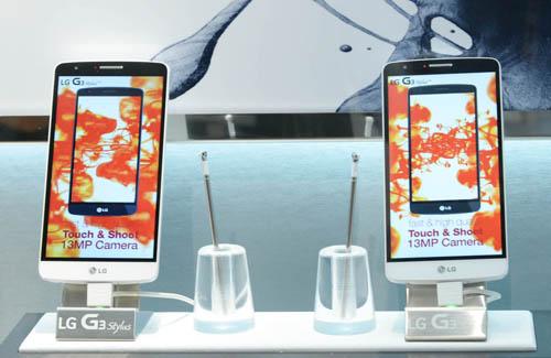 DEBUT OF LG G3 STYLUS BRINGS PREMIUM  STYLU