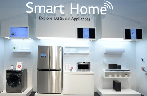 chat naturally with lg s smart home at ifa 2014 lg newsroom. Black Bedroom Furniture Sets. Home Design Ideas