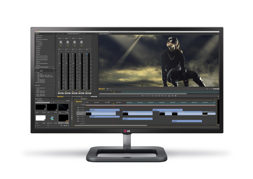 INTRODUCING LG'S DIGITAL CINEMA 4K MONITOR,  THE