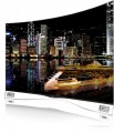 A right-side view of LG Curved OLED TV model 55EA9800