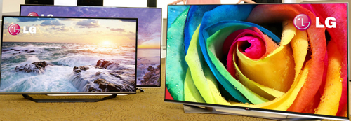 LG'S 2015 4K ULTRA HD TV LINEUP OFFERS  CRISP COLORS, IMPROVED D