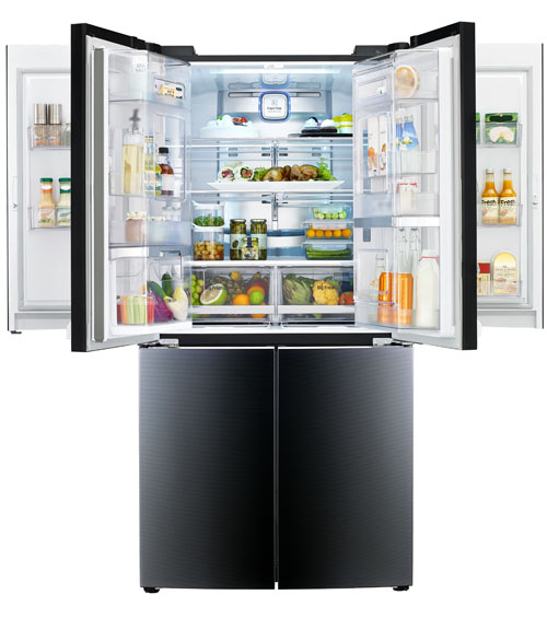 LG TO UNVEIL FIRST MEGA-CAPACITY REFRIGERATOR  WITH DOUBLE DOOR-