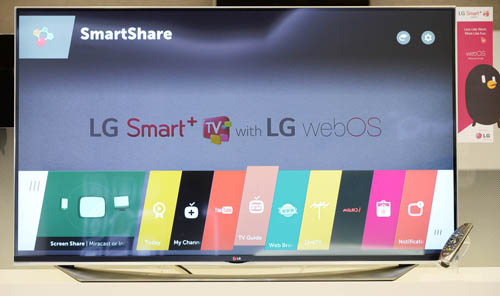 LG TO SHOWCASE MORE INTUITIVE  WEBOS 2.0 SMAR