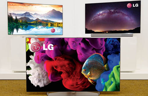 LG UNVEILS EXPANDED O