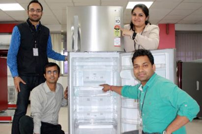 Four LG India employees around LG refrigerator acquired CER credits