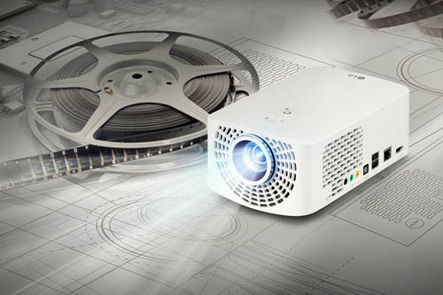 LG MARKS LED PROJECTOR LEADERSHIP WIT