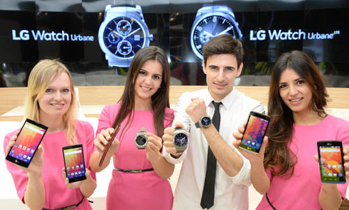LG'S BROAD RANGE OF MOBILE INNOVATIO