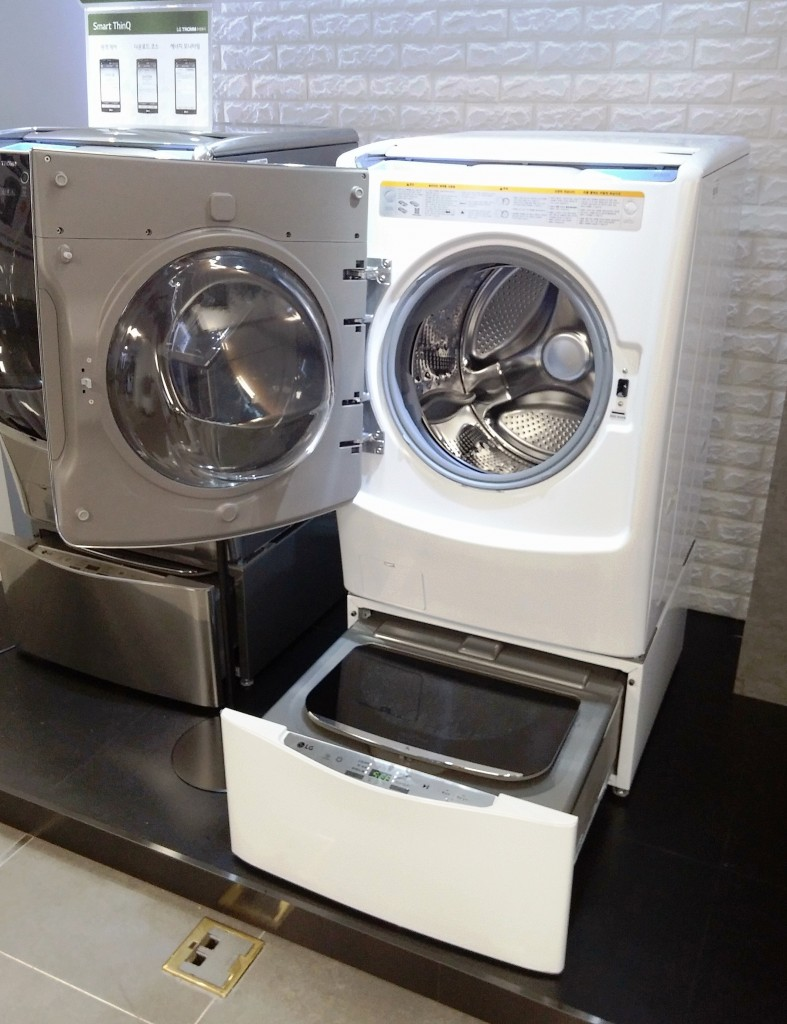 New Washing Machine ~ Lg ushers in a new age of convenience with revolutionary