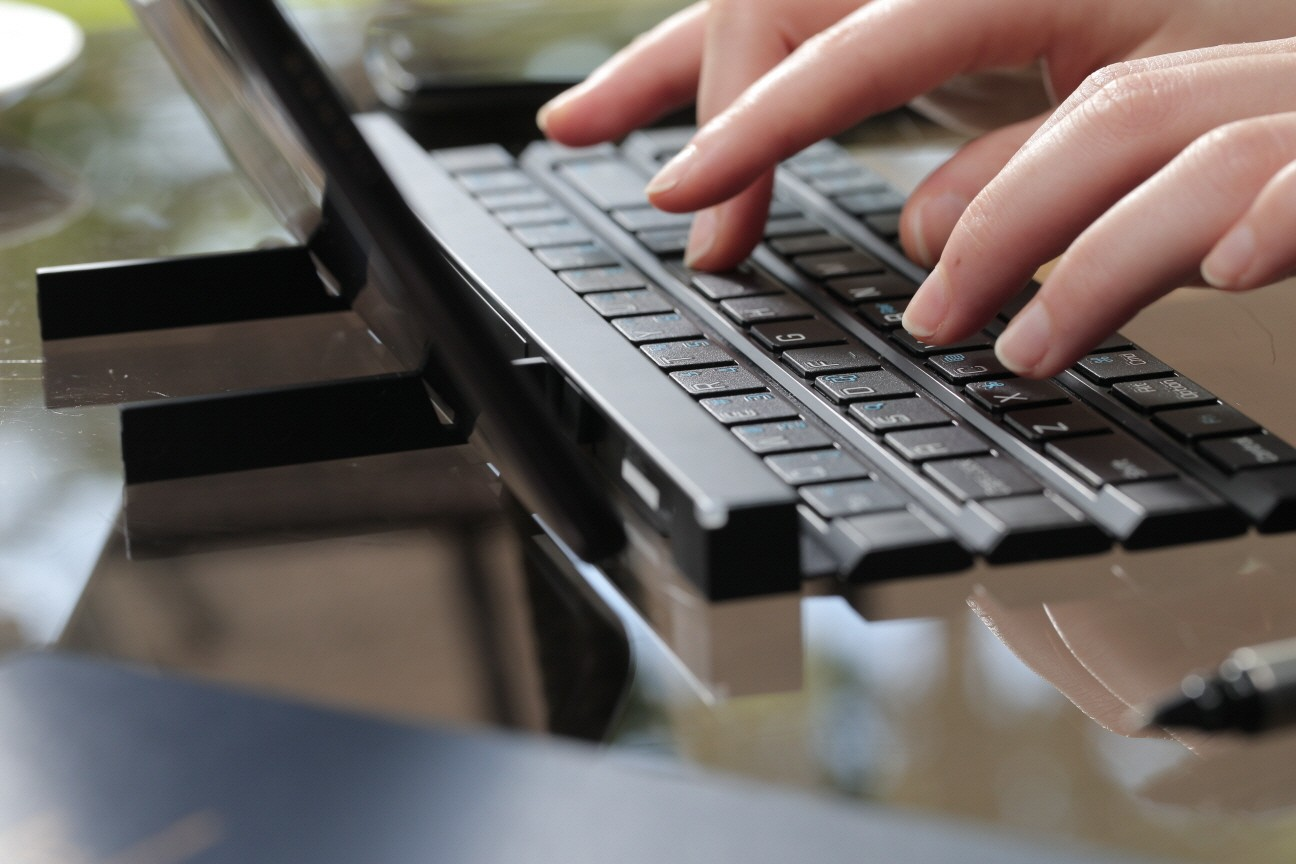 Lg Develops Full Size Keyboard For Pockets Lg Newsroom
