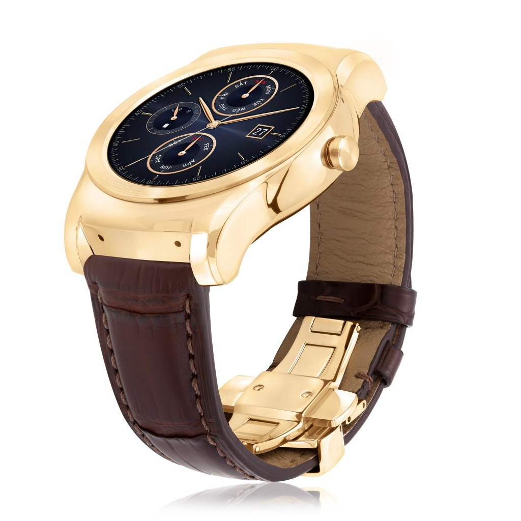 LG Watch Urbane Luxe Side
