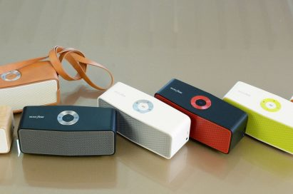 The seven color variations of the LG Music Flow P5