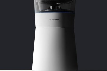 The LG SIGNATURE air purifier.