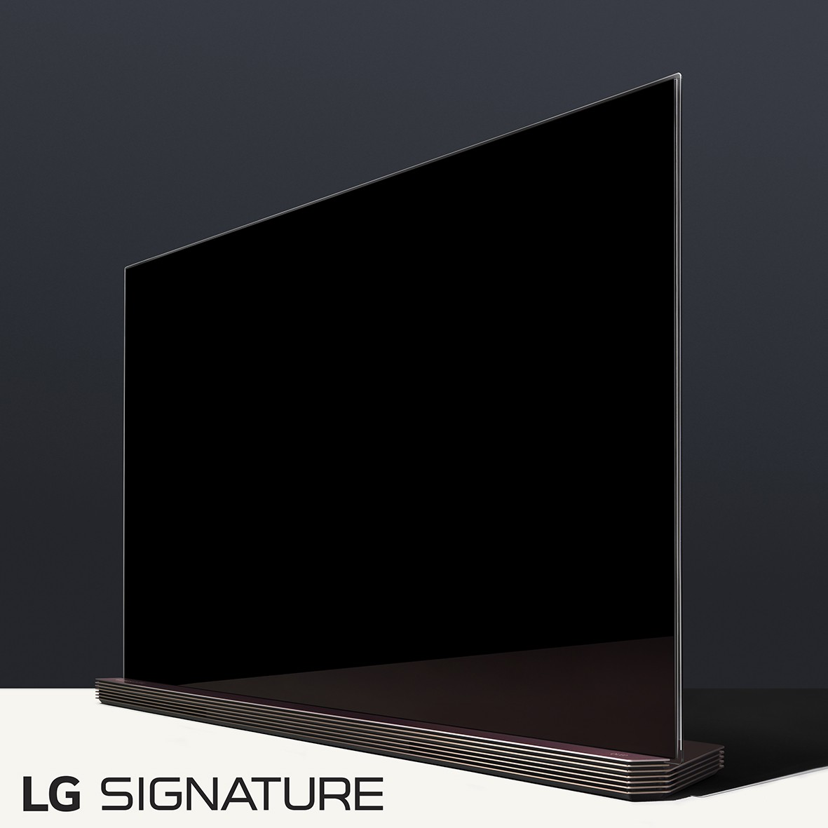 lg to introduce new lg signature brand at ces 2016 lg. Black Bedroom Furniture Sets. Home Design Ideas