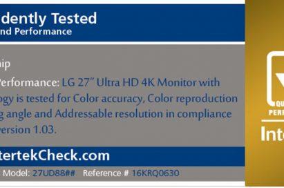 Intertek Quality Performance Mark