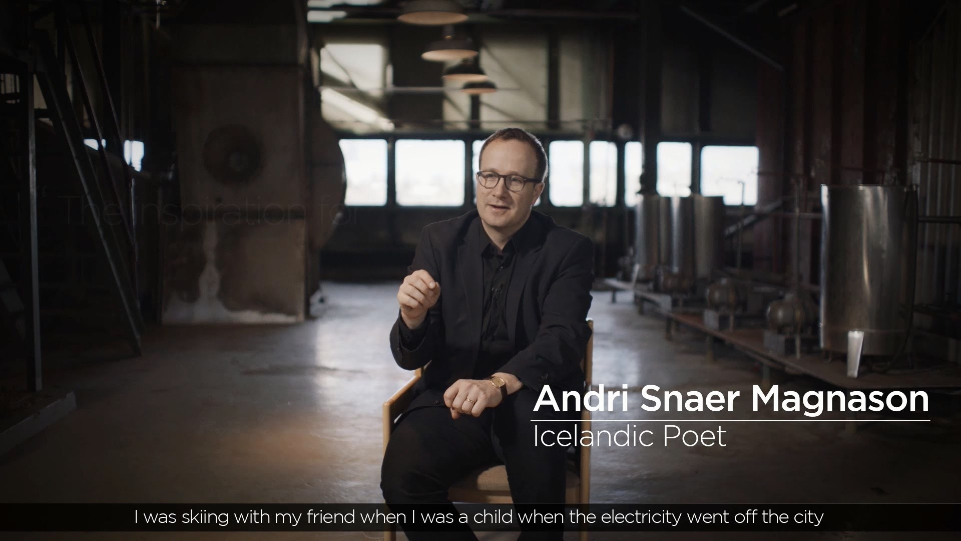 2016 LG OLED TV Iceland Aurora: Andri Snaer Magnason
