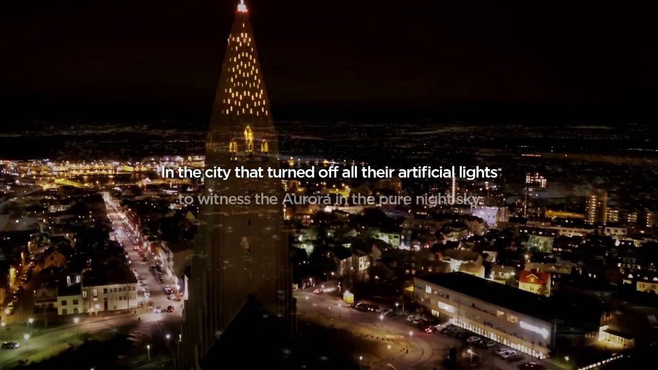 2016 LG OLED TV Iceland Aurora: Teaser