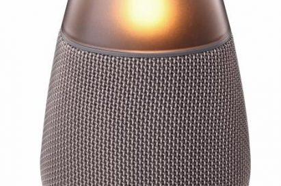 LG Bluetooth speaker model PH3 in grey