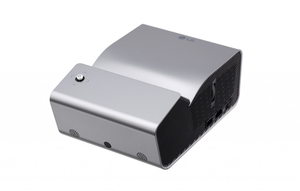 LG Minibeam projector model PH450U.