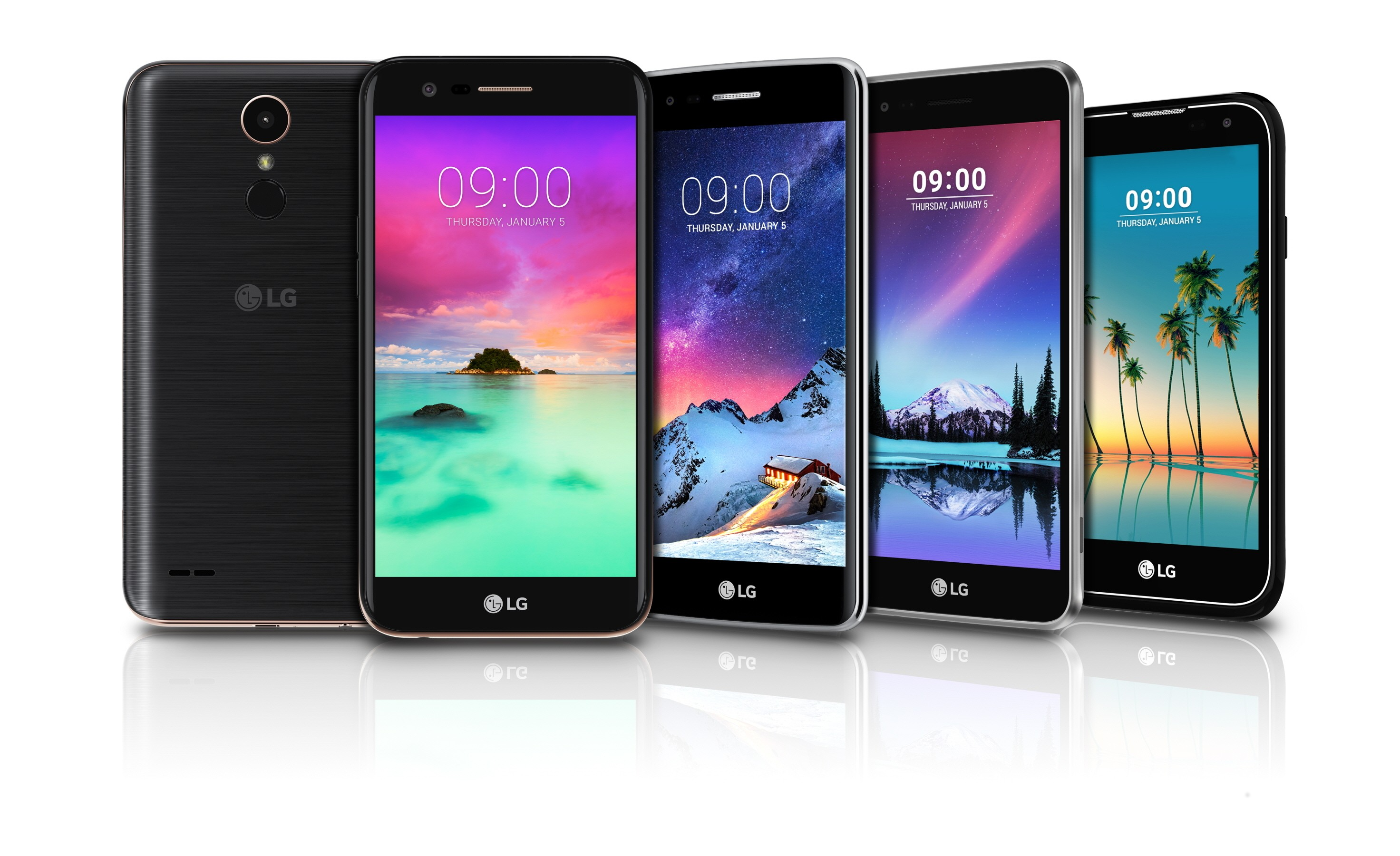 Lg S Mass Tier Smartphone Offerings For 2017 To Be