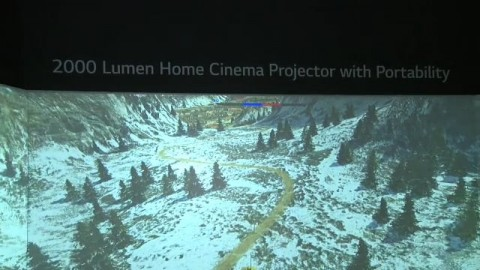 CES 2017 - Projector