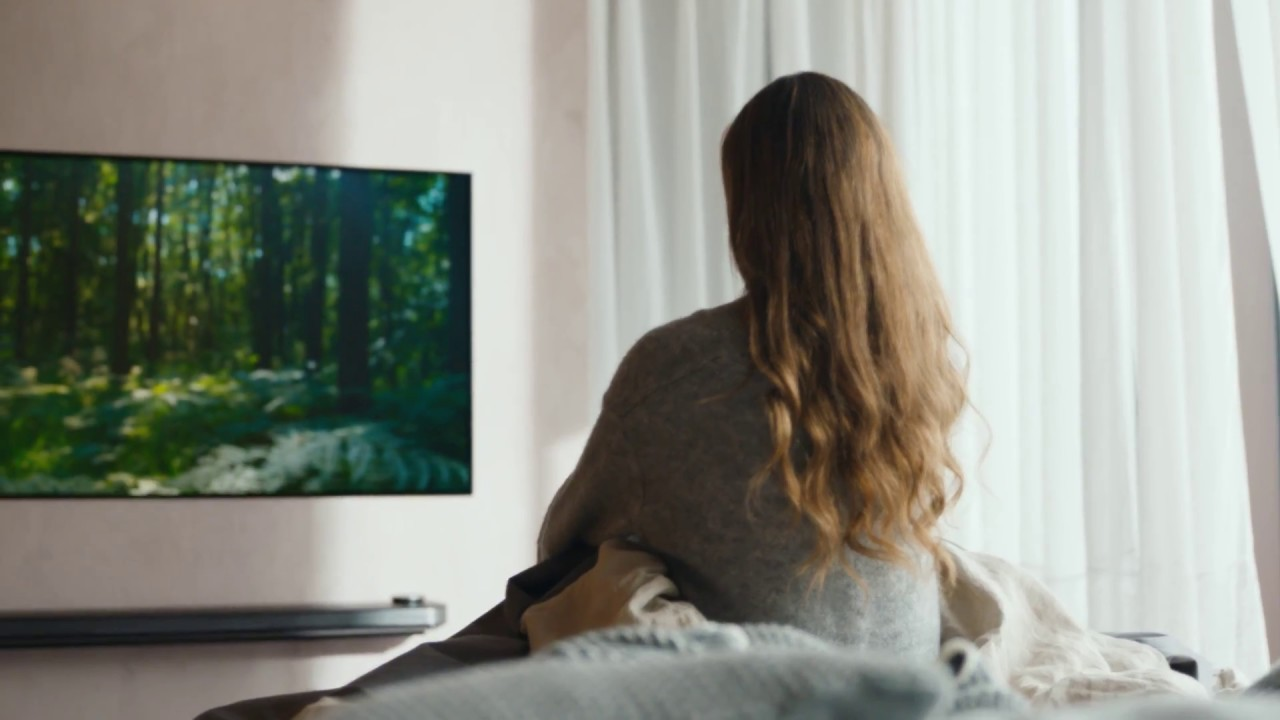 LG SIGNATURE OLED TV W, a New Style of Life