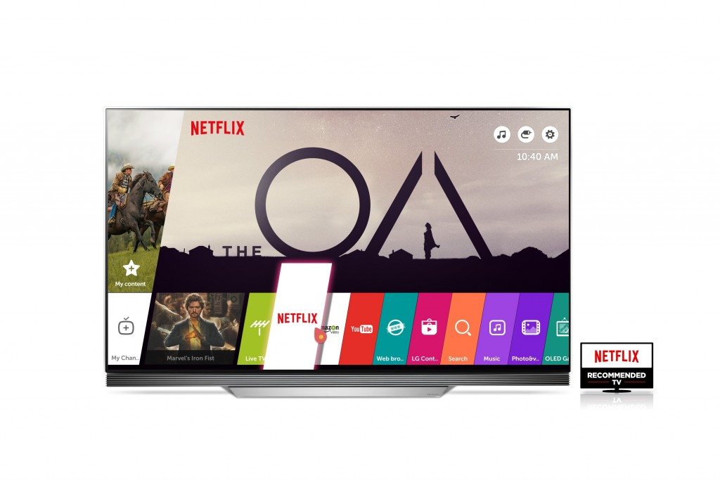 Netflix Recommended LG TV